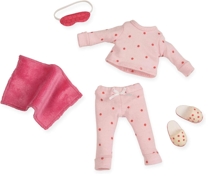 Lori LO30007Z piacevolmente Polka Dotted Pigiama moda bambola Outfit