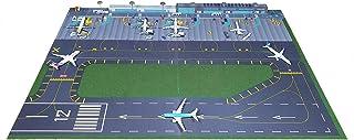 Makieta lotniska regionalnego z drogą startową w skali 1/500