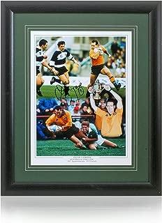 John Bentley hand signed 16x12'' British & Irish Lions photo