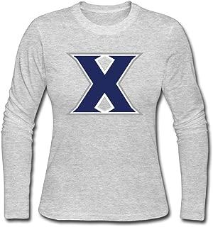 Women's Fashion Xavier University Long Sleeve T