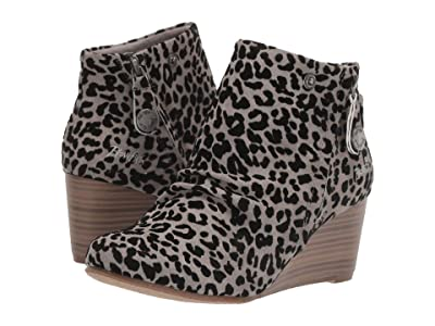 Blowfish Berkeley (Grey Leopard Ojai PU) Women