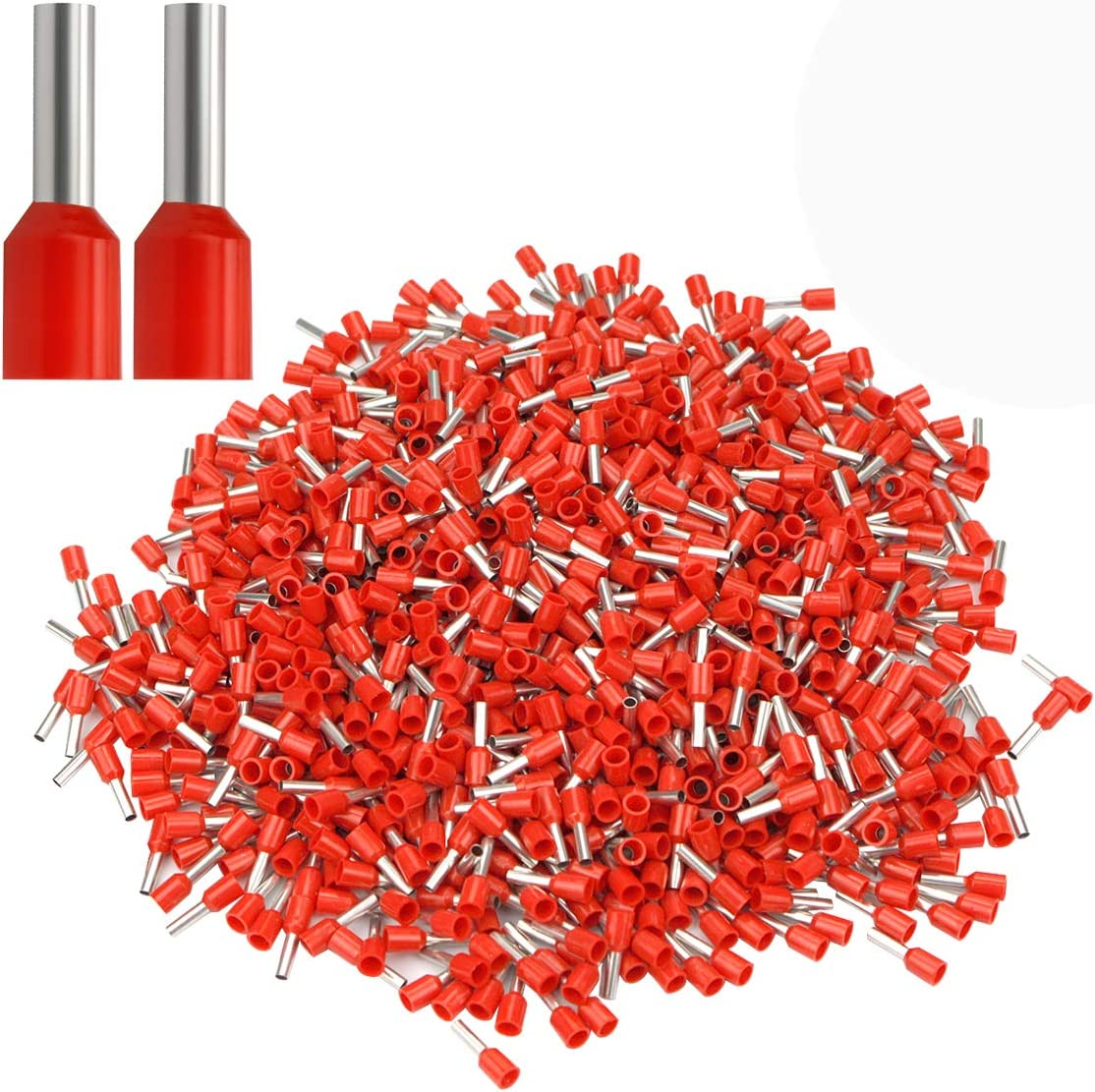 XHF 1000 PCS AWG 18 Mail order Ferrule Insulated Crimper Te Pin Plier Our shop OFFers the best service Crimp