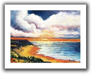 ArtWall Gene Foust 'Summer Breeze' Unwrapped Canvas Art, 18 by 22-Inch