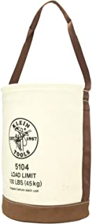 Canvas Bucket with Leather Bottom Klein Tools 5104