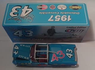 1957 Richard Petty 43 Oldsmobile Convertible 1/24 Nascar Diecast Historical