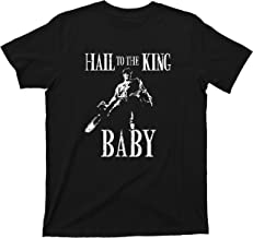 Hail to the King Army of Darkness T Shirt Baby Evil Dead Tee