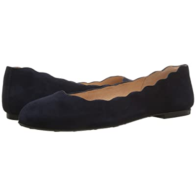 French Sole Jigsaw (Navy Empire Suede) Women