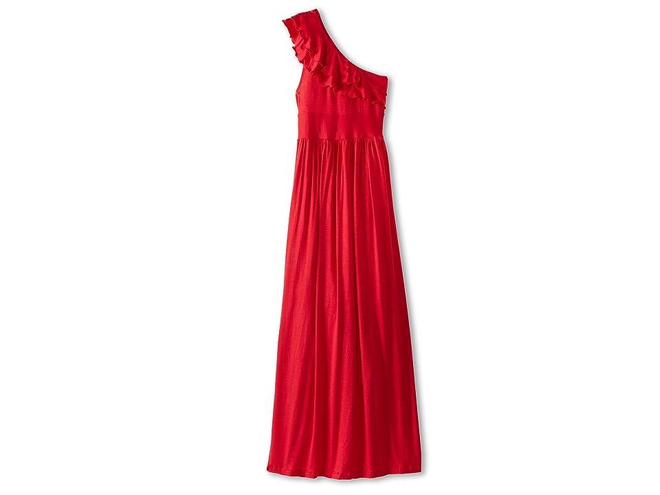 fiveloaves twofish Bedouin Maxi Dress (Little Kids/Big Kids) (Red) Girl
