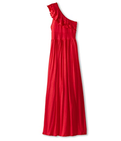 fiveloaves twofish Bedouin Maxi Dress (Little Kids/Big Kids) (Red) Girl