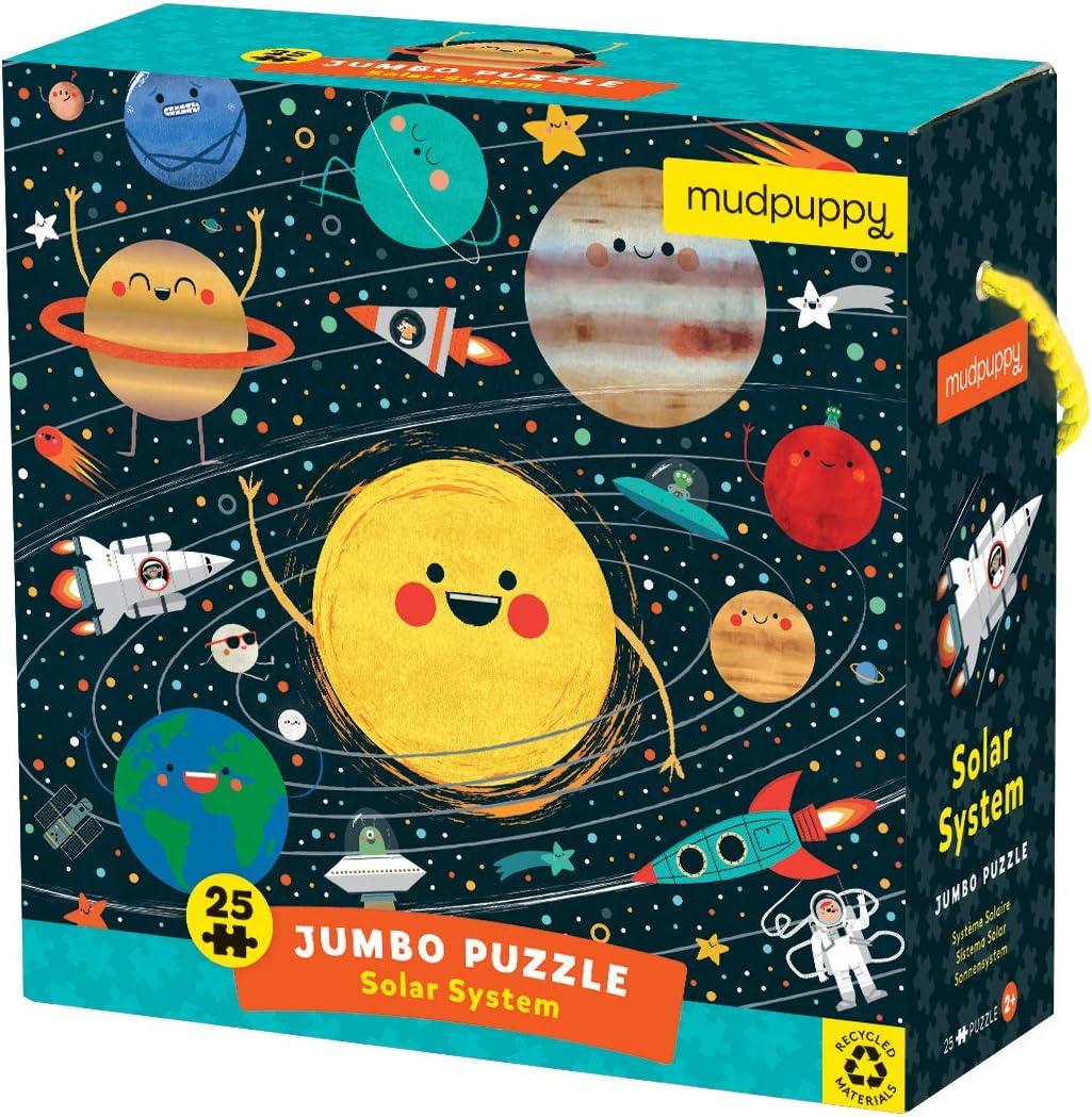 "Mudpuppy Solar System Jumbo Puzzle, 25 Pieces, 22"" x 22â€"