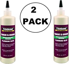2 PACK Titebond 2104 Tongue and Groove Glue Bottle, 16 oz