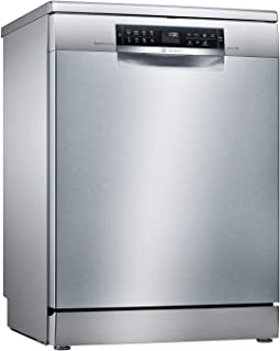 Bosch Free Standing Silver Dishwasher, SMS68TI10M
