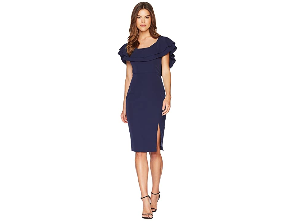 Bardot Band Dress (Navy) Women