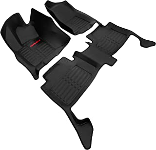 AWEMAT Custom Fit Car Floor Mats for Jeep Grand Cherokee 2011-2019 Model Digital Measured Exquisite Pattern-Large Coverage -Waterproof-All Weather Protection-Black