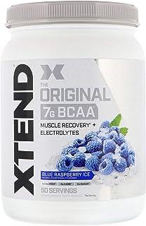 Scivation, Xtend, The Original 7g BCAA, Blue Raspberry Ice, 1.5 lb (700 g) 50 Servings