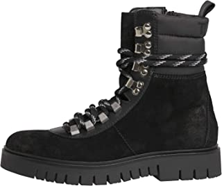TOMMY HILFIGER Padded Nylon Lace Up Womens Boots