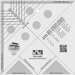 Creative Grids Cat's Cradle Tool Quilting Ruler Template cgrDH1