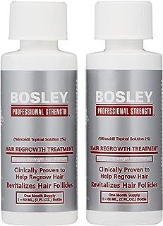 Bosley Hair Regrowth Treatment Regular Strength for Women, 2 oz
