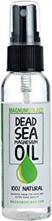 Dead Sea Magnesium Oil 2oz TRAVELER Size - Made in USA - Sourced From Ancient Dead Sea Minerals