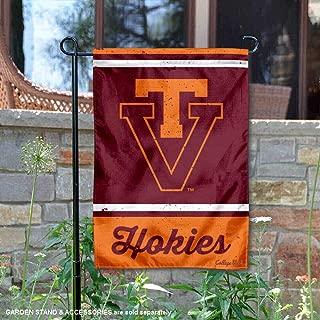Wincraft Virginia Tech Hokies Vintage Retro Throwback Garden Flag