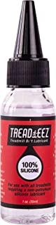 GSM Brands Treadmill Belt Lubricant - 100% Silicone Acrylic Pouring Oil - Elliptical Exercise Machine Lube (1 oz Size)