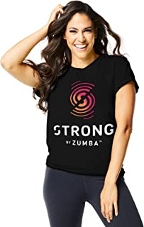 eccb3dfc3d33 Zumba Women's Strong Graphic Tee