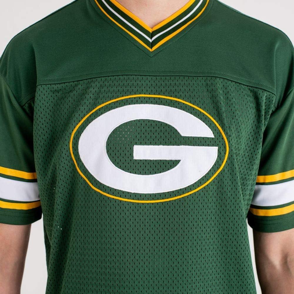 New Era NFL Team Logo Oversized tee Grepac Camiseta Línea Green Bay Packers Hombre