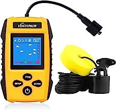 1 en 2-Portable Fish Finder capteur GPS Traceur Sonar Bullet écumeur de pêche