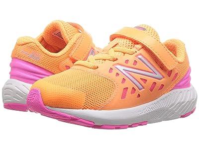 New Balance Kids IXURGv2 (Infant/Toddler) (Mango/Light Peony) Girls Shoes