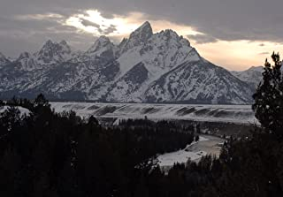 Snake River Overlook #754-Grand Teton National Park-Wyoming-Goodall Christmas Cards