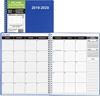 2019-2020 Academic Planner, 8.5