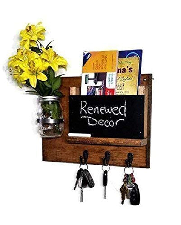 Jefferson Memo Chalkboard Max 73% OFF Mail Organizer Dealing full price reduction Jar Mason Decorative