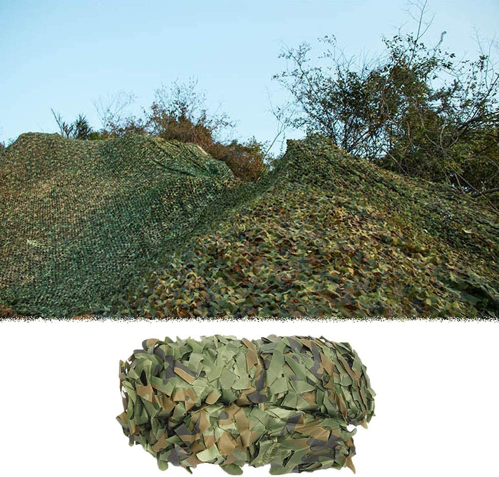 Hyffdj Outdoor Virginia Beach Mall Directly managed store Hunting Military Camouflage 2×3m Woodland - Net
