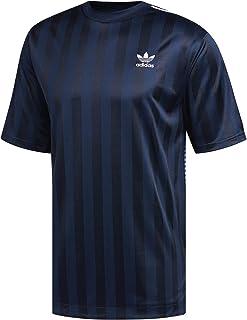 adidas Originals Mens B-Side Jersey T-Shirt in Collegiate Navy.