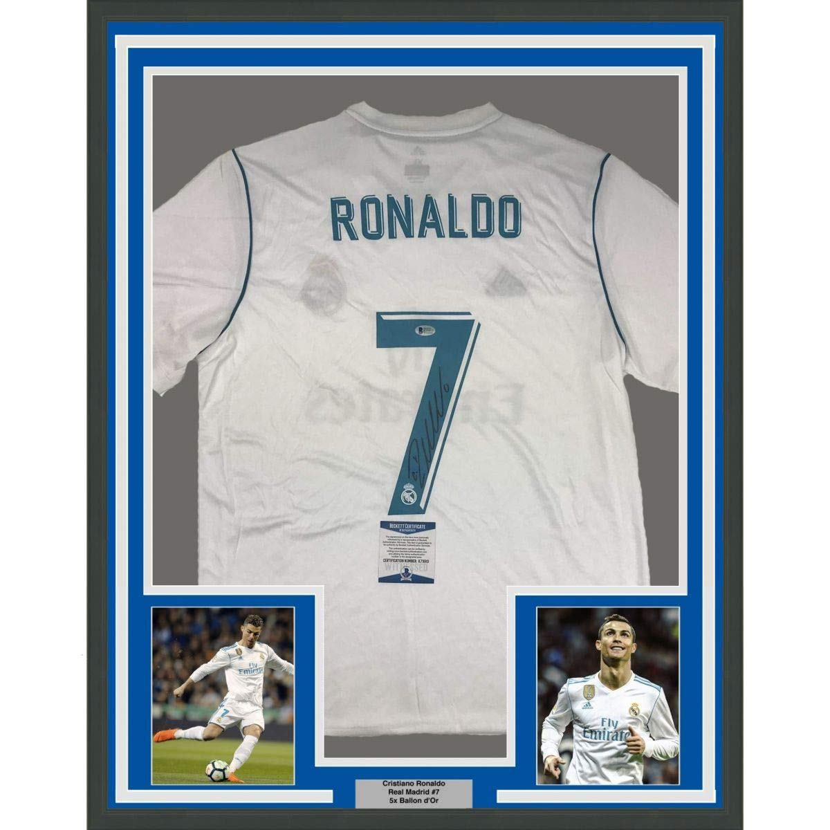 Framed Autographed Signed Cristiano Rona Buy Online In Cayman Islands At Desertcart