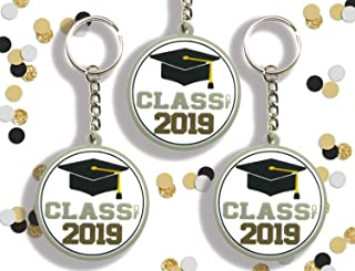 12 pc Class of 2019 Party Favors Graduation Key Chain (Class of 2019)