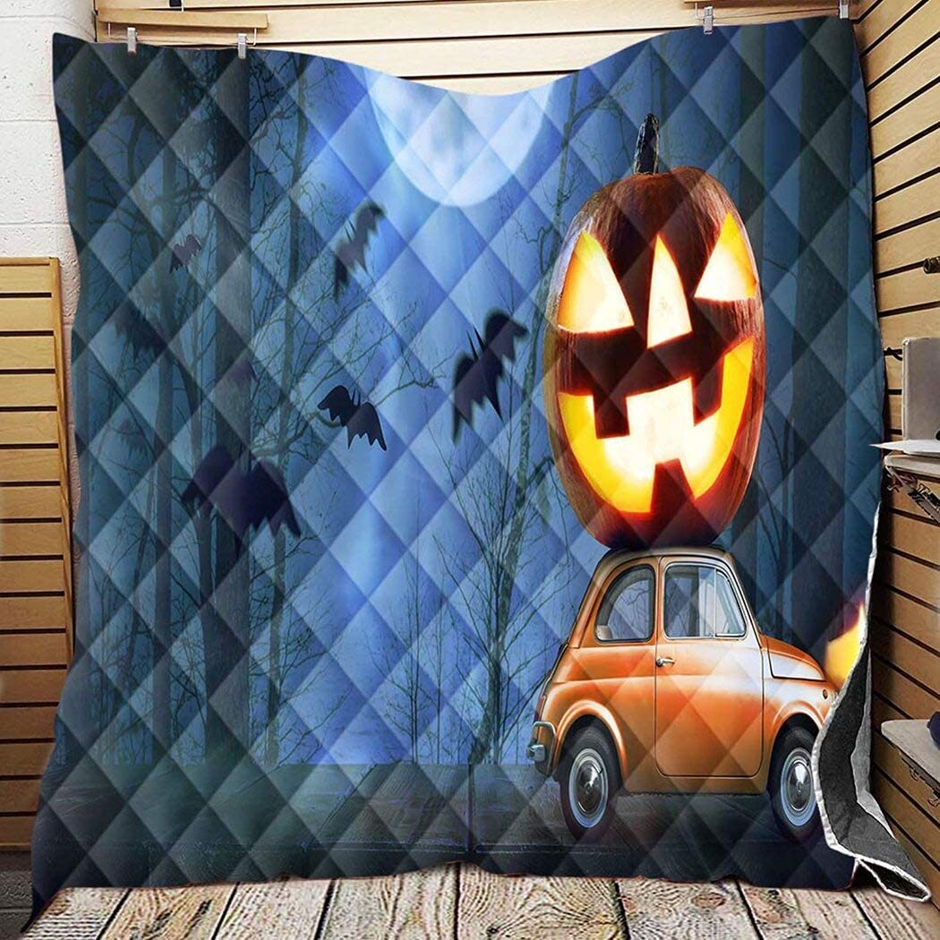 Personalized Halloween Pumpkin and 35% OFF Sacramento Mall Car You Quilt The Mom Mean
