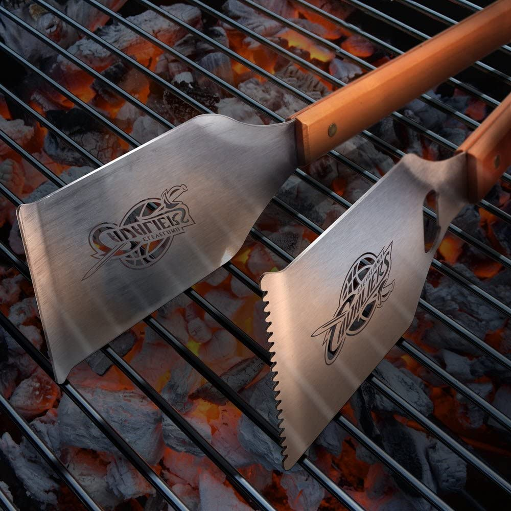 YouTheFan NBA Grill-A-Tong Stainless Steel Laser-Cut Team BBQ Tongs