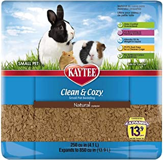 Kaytee Clean & Cozy 250 cu in 4.3 Liters Natural Small Pet Bedding