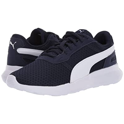 Puma Kids ST Activate (Big Kid) (Peacoat/Puma White) Kids Shoes