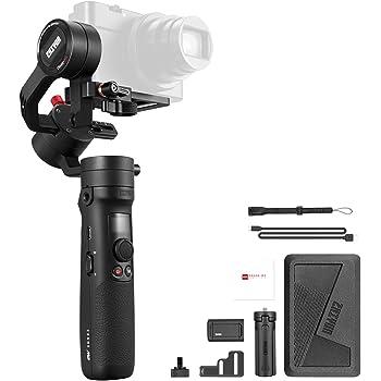【ZHIYUN正規代理】-Zhiyun-Crane-M2-3軸手持ちジンバルスタビライザー 6つのモード 360°無制限回転 最大720gに対応 APP制御 OLED ロックデザイン ミラーレスカメラ スマートフォン アクションカメラに対応 日本語説明書&サポート