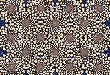 150ピース ジグソーパズル 錯視 ぐるぐる ラージピース(26x38cm)