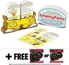Melissa & Doug Preschool Smarty Pants Card Game Set + FREE Scratch Art Mini-Pad Bundle [50708]