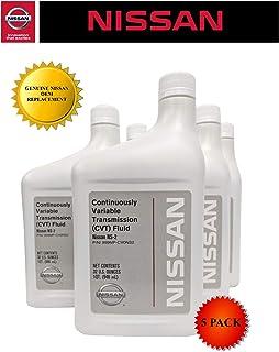 Nissan Genuine OEM CVT-2 Transmission Fluid 999MP-NS200P (5 Quarts)