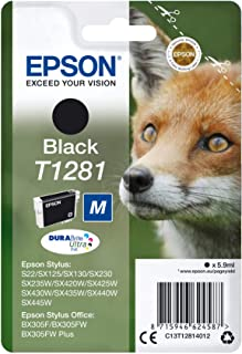 Epson Toner Cartridge - T-1281, Black