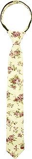 Spring Notion Corbata de algodón con cierre ajustado floral para niños