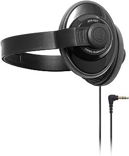 audio-technica X-Street Style 密閉型オンイヤーヘッドホン ポータブル バックバンド ブラック ATH-XS7 BK