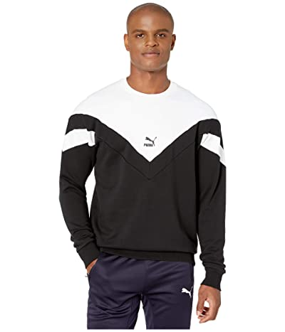 PUMA Iconic MCS Crew Sweatshirt (PUMA Black) Men
