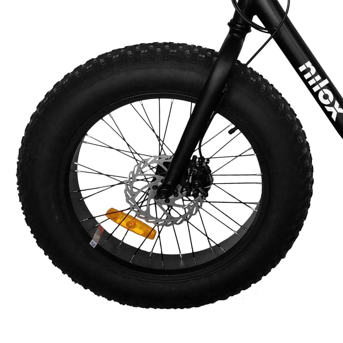 Nilox 30NXEB203V003 Bicicleta eléctrica, Unisex Adulto, Negro, Talla Única: Amazon.es: Deportes y aire libre