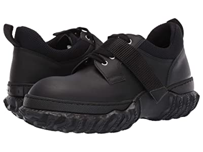 MARNI Hook and Loop/Lace-Up Shoe (Black) Men